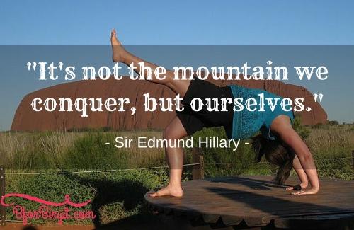 BforBirgit.com - Conquer the Mountain